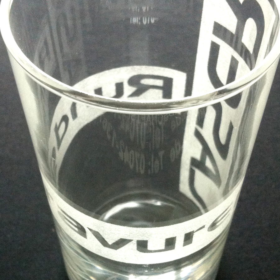 Laser - Glasgravur