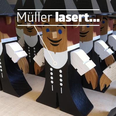 Bild Müller lasert