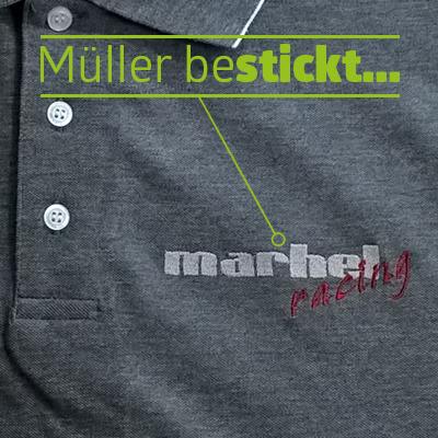 Müller bestickt